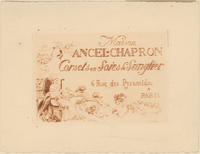 Trade card for Maison Ancel-Chapron