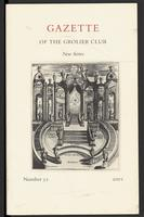 Gazette of the Grolier Club New Series No. 52