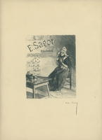 Edmund Sagot Trade Card Print