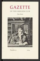 Gazette of the Grolier Club New Series No. 55
