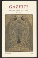 Gazette of the Grolier Club New Series No. 57