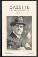 Gazette of the Grolier Club New Series No. 59/60