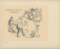 Trade Card for Charles Hériot, Framer