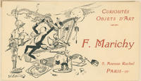 F. Marichy Trade Card