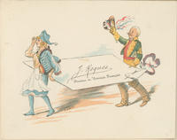 "J. Roques ""Le Courrier Français"" Trade Card"