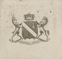 Unidentified Bookplate