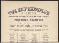 The Art Exemplar, Title page, top half, verso