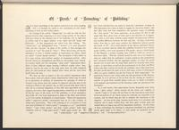 "The Art Exemplar, ""Of 'Proofs' of 'Retouching', of 'Publishing',"" columns 195-196, recto"