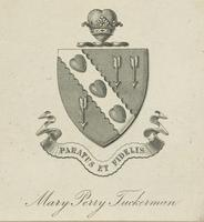 Mary Perry Tuckerman Bookplate