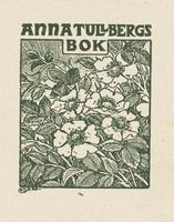 Anna Tullberg Bookplate