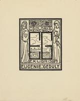 Eugenie Geduly Bookplate