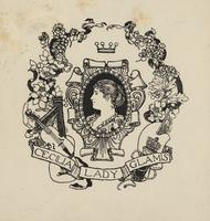 Lady Cecilia Glamis Bookplate