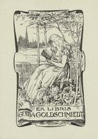Guida Goldschmiedt Bookplate