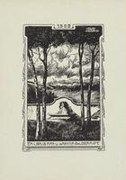 Johanna Goldschmidt and Max Goldschmidt Bookplate