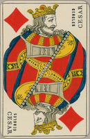 David Cercles Trade Card, Two of Diamonds