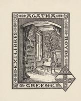 Agatha Royds Greene Bookplate