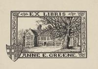 Anne E. Greene Bookplate