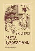 Meta Grossmann Bookplate