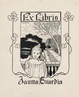 Jauma Guardia Bookplate