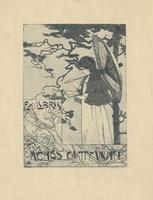 Agnes Guttman Bookplate