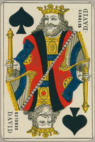 David Cercles Trade Card, Two of Spades