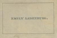 Emily Ladenburg Bookplate