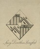 Lucy Dorothea Langford Bookplate