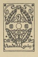 Anna Welsh Lapsley Bookplate