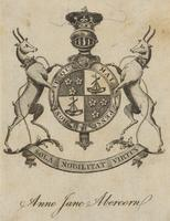 Anne Jane Abercorn Bookplate