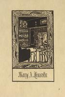 Mary A. Lincoln Bookplate