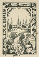Aline Lippert Bookplate