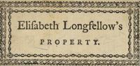 Elizabeth Longfellow Bookplate
