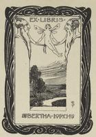 Bertha Lorch Bookplate