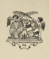 Aliciae Loudon Bookplate