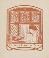 Claire de Call Bookplate