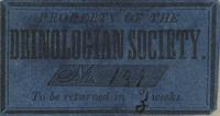 Deinologian Society Bookplate