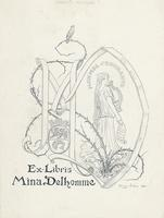 Mina Delhomme Bookplate