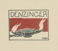 Denzinger Bookplate