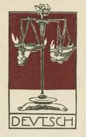 Deutsch Bookplate