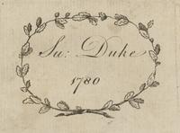 Duke Bookplate