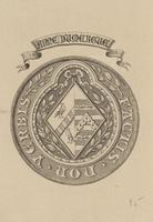 Anne Dumercue Bookplate