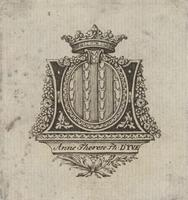Anne Therese Ph. D'Yve Bookplate