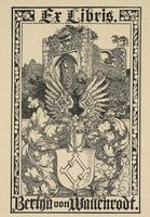 Bertha von Wallenrodt Bookplate