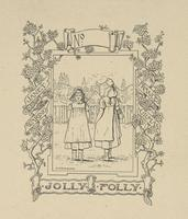 Jane and Frances Gilman Waring Bookplate