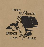 Alice Bookplate