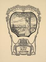 Alice Weigmann Bookplate
