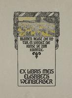 Elisabeth Weinberger Bookplate