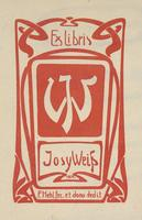 Josefine Weingaertner Bookplate