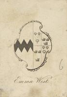 Charlotte West Bookplate