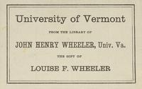 Gertrude T. Wheeler Bookplate